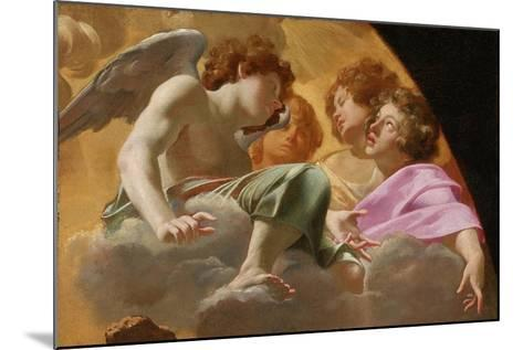 Model for Altarpiece in St. Peter's, 1625-Simon Vouet-Mounted Giclee Print