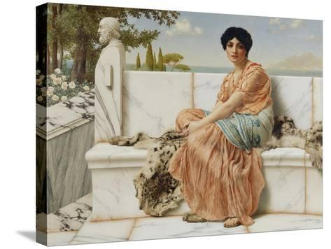 Reverie, 1904-John William Godward-Stretched Canvas Print
