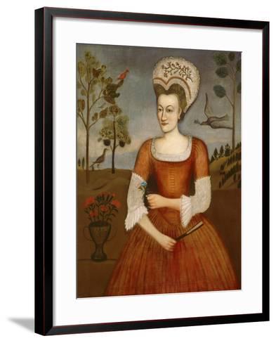 Catharine Hendrickson, c.1770-Daniel Hendrickson-Framed Art Print