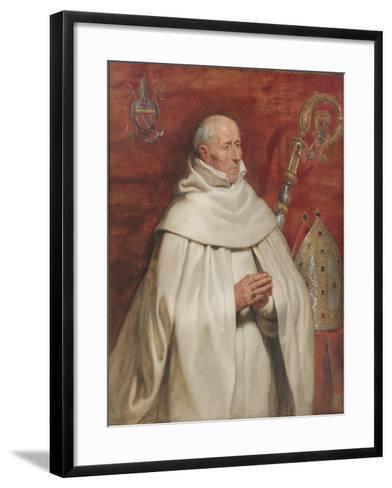 Matthaeus Yrsselius (1541-1629), Abbot of Sint-Michiel's Abbey in Antwerp, c. 1624-Peter Paul Rubens-Framed Art Print