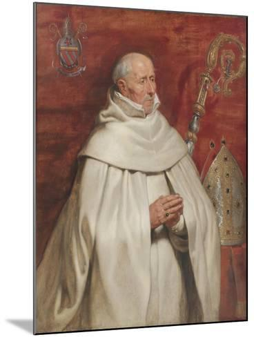 Matthaeus Yrsselius (1541-1629), Abbot of Sint-Michiel's Abbey in Antwerp, c. 1624-Peter Paul Rubens-Mounted Giclee Print