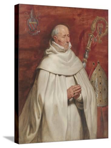 Matthaeus Yrsselius (1541-1629), Abbot of Sint-Michiel's Abbey in Antwerp, c. 1624-Peter Paul Rubens-Stretched Canvas Print