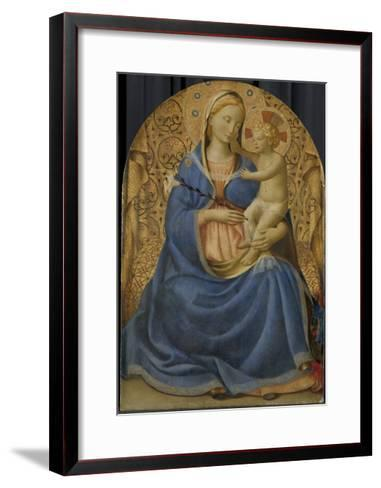 Madonna of Humility, c.1440-Fra Angelico-Framed Art Print