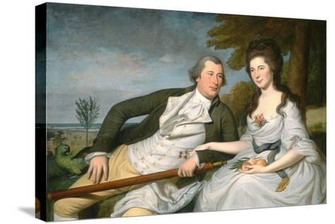 Benjamin and Eleanor Ridgely Laming, 1788-Charles Willson Peale-Stretched Canvas Print
