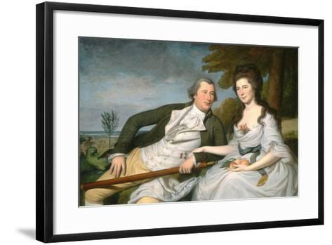 Benjamin and Eleanor Ridgely Laming, 1788-Charles Willson Peale-Framed Art Print