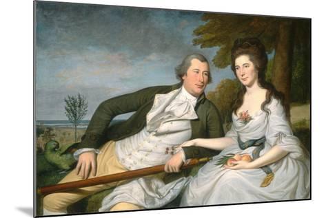 Benjamin and Eleanor Ridgely Laming, 1788-Charles Willson Peale-Mounted Giclee Print