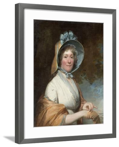 Henrietta Marchant Liston (Mrs. Robert Liston), 1800-Gilbert Stuart-Framed Art Print
