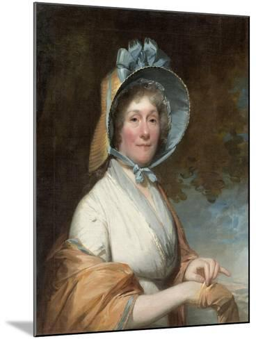 Henrietta Marchant Liston (Mrs. Robert Liston), 1800-Gilbert Stuart-Mounted Giclee Print