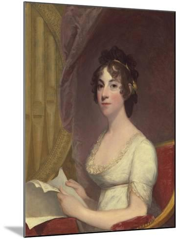 Anna Maria Brodeau Thornton (Mrs. William Thornton), 1804-Gilbert Stuart-Mounted Giclee Print