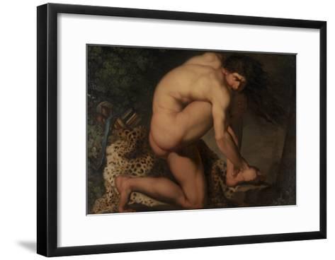 The Wounded Philoctetes, 1776-Nicolai Abraham Abildgaard-Framed Art Print