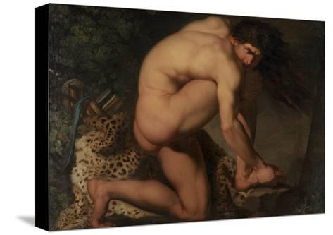 The Wounded Philoctetes, 1776-Nicolai Abraham Abildgaard-Stretched Canvas Print