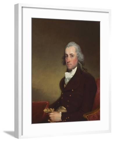 Stephen Van Rensselaer III, 1793-5-Gilbert Stuart-Framed Art Print