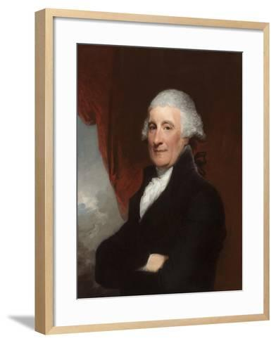 Sir Robert Liston, 1800-Gilbert Stuart-Framed Art Print