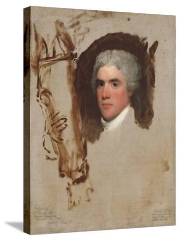 John Bill Ricketts, 1795-9-Gilbert Stuart-Stretched Canvas Print
