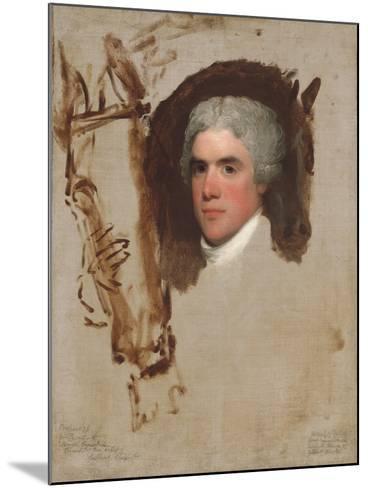 John Bill Ricketts, 1795-9-Gilbert Stuart-Mounted Giclee Print