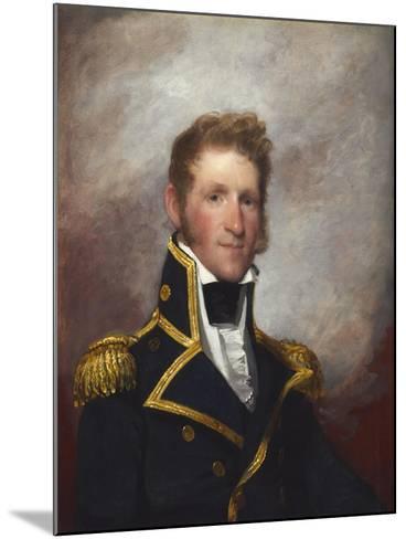 Commodore Thomas Macdonough, c.1815-8-Gilbert Stuart-Mounted Giclee Print