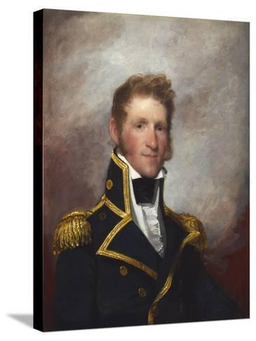 Commodore Thomas Macdonough, c.1815-8-Gilbert Stuart-Stretched Canvas Print