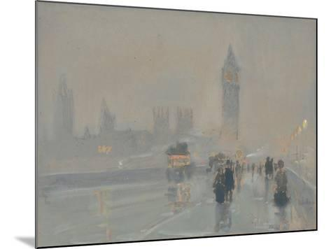 Big Ben, 1897 or 1907-Childe Hassam-Mounted Giclee Print