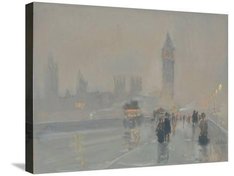Big Ben, 1897 or 1907-Childe Hassam-Stretched Canvas Print
