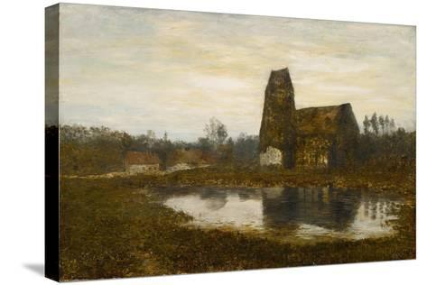 Criqueboeuf Church, Normandy, 1893-Homer Dodge Martin-Stretched Canvas Print