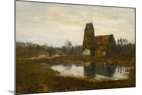 Criqueboeuf Church, Normandy, 1893-Homer Dodge Martin-Mounted Giclee Print