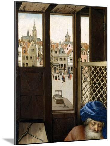 Annunciation Triptych (Merode Altarpiece), c.1427-32-Master of Flemalle-Mounted Giclee Print