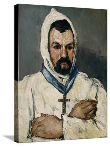 Antoine Dominique Sauveur Aubert, the Artist's Uncle, as a Monk, 1866-Paul Cezanne-Stretched Canvas Print