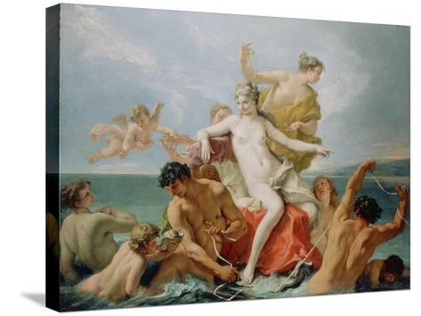 Triumph of the Marine Venus, c.1713-Sebastiano Ricci-Stretched Canvas Print