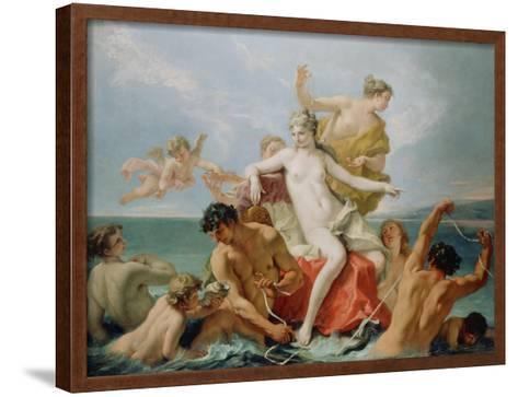 Triumph of the Marine Venus, c.1713-Sebastiano Ricci-Framed Art Print