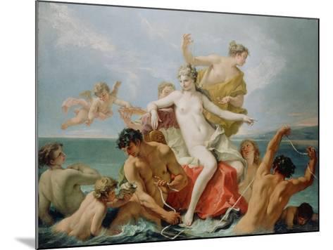 Triumph of the Marine Venus, c.1713-Sebastiano Ricci-Mounted Giclee Print