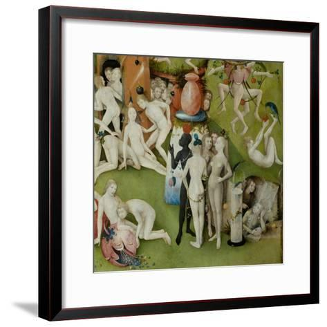 The Garden of Earthly Delights, 1490-1500-Hieronymus Bosch-Framed Art Print
