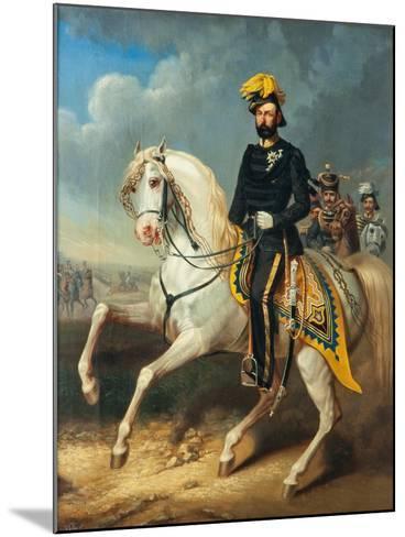 Karl XV, King of Sweden and Norway, c.1860-Carl Fredrik Kioerboe-Mounted Giclee Print