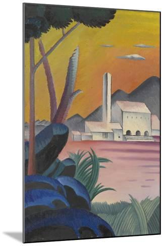 Landscape with Contrasting Tree Forms, II,-Viking Eggeling-Mounted Giclee Print