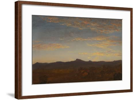 "Study for ""Catskill Creek"", c.1844-5-Thomas Cole-Framed Art Print"
