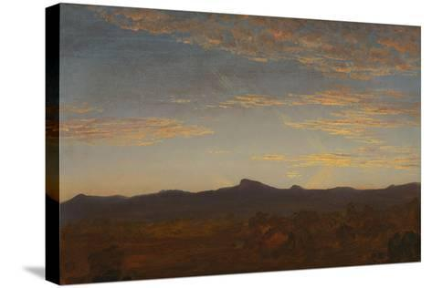 "Study for ""Catskill Creek"", c.1844-5-Thomas Cole-Stretched Canvas Print"