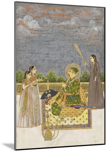 Emperor Muhammad Shah, c.1735-Mughal School-Mounted Giclee Print