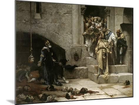 The Bell of Huesca, 1880-Jose Casado Del Alisal-Mounted Giclee Print