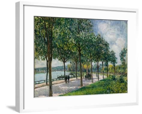 Allée of Chestnut Trees, 1878-Alfred Sisley-Framed Art Print