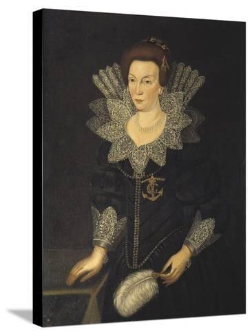 Kristina of Holstein-Gottorp, c.1610-Unknown Artist-Stretched Canvas Print