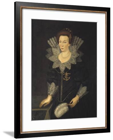 Kristina of Holstein-Gottorp, c.1610-Unknown Artist-Framed Art Print