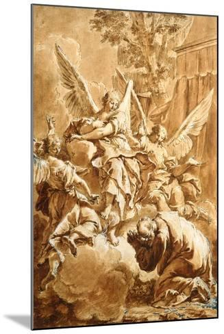 Abraham and the Three Angels, c.1750-Francesco Fontebasso-Mounted Giclee Print
