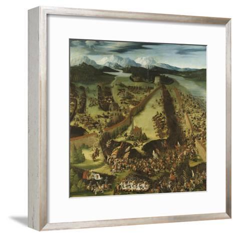 The Battle of Pavia-Ruprecht Heller-Framed Art Print