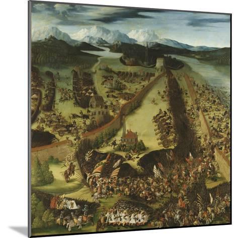 The Battle of Pavia-Ruprecht Heller-Mounted Giclee Print