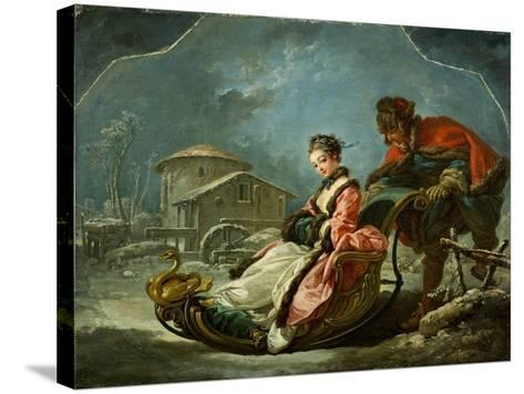 The Four Seasons: Winter, 1755-Francois Boucher-Stretched Canvas Print