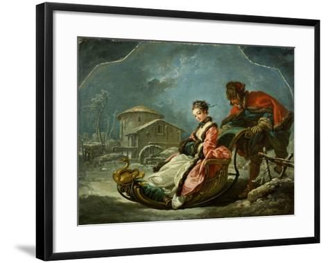The Four Seasons: Winter, 1755-Francois Boucher-Framed Art Print