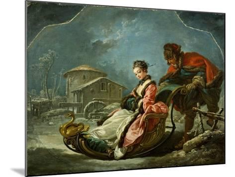 The Four Seasons: Winter, 1755-Francois Boucher-Mounted Giclee Print