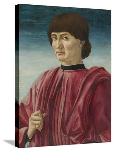 Portrait of a Man, c.1450-Andrea Del Castagno-Stretched Canvas Print