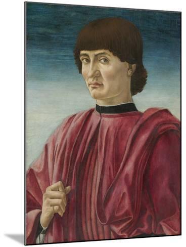 Portrait of a Man, c.1450-Andrea Del Castagno-Mounted Giclee Print