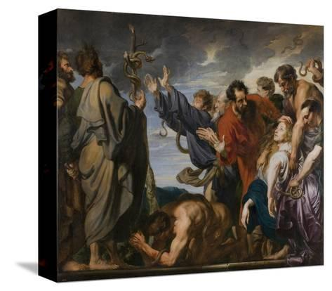 Moses and the Brazen Serpent, 1618-20-Anthony van Dyck-Stretched Canvas Print