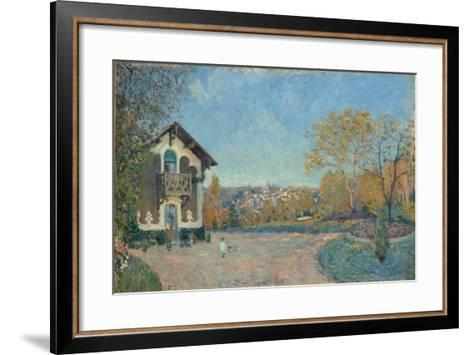 View of Marly-le-Roi from Coeur-Volant, 1876-Alfred Sisley-Framed Art Print